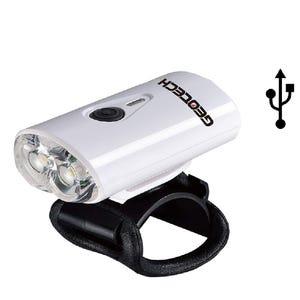 Luz Delantera Geotech Doble Led USB GLI023